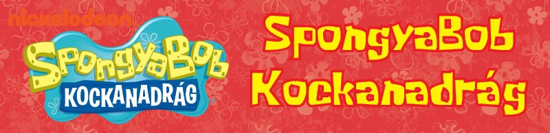 SpongyaBob Kockanadrág kiadványok   03c60480e1