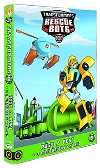 Transformers Mentőbotok 8.-as DVD (6)